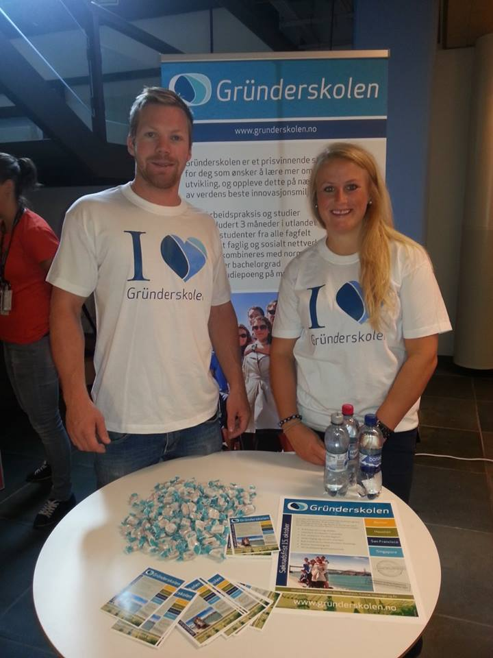 Stand på karrieredagen på Universitetet i Tromsø